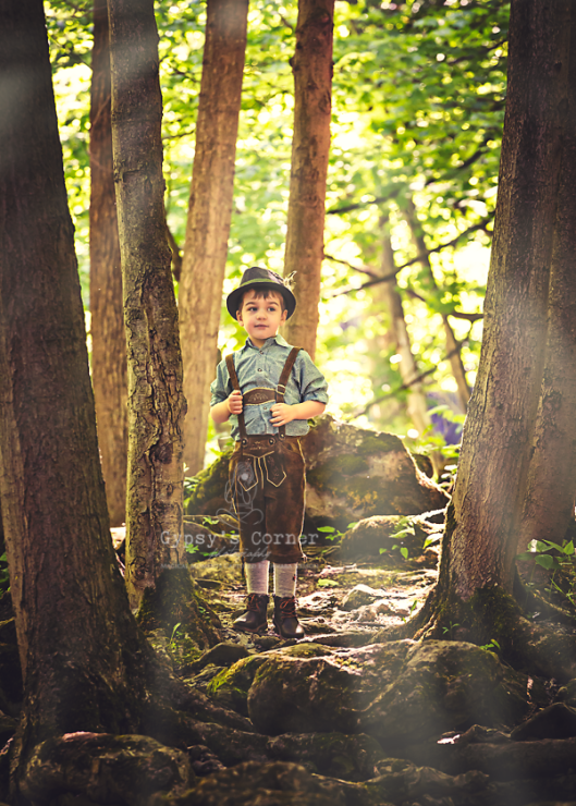 Print those pictures|Gypsy's Corner Photography|Portrait Photographer| Lederhosen Boy © 2016