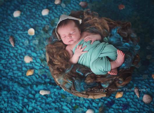 Buffalo|Newborn|Photographer|Under|the|sea