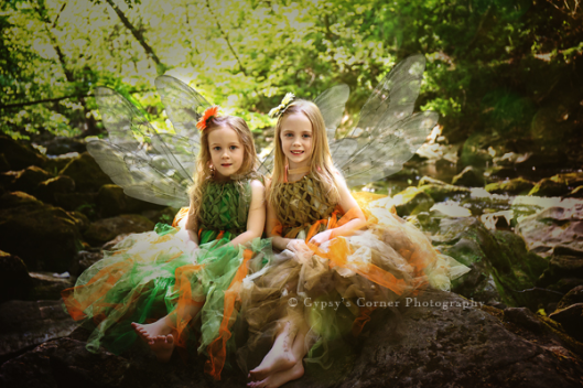 Buffalo Children Photographer|Summer Fairies