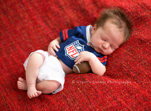 WNY|Newborn|Photographer|Football