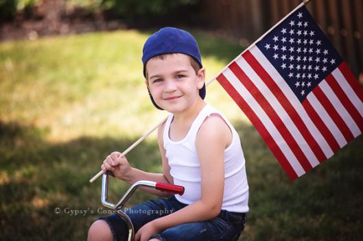 Buffalo Children Photographer| 4th of July Session | www.gypsyscornerphotography.com