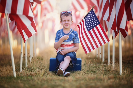 Buffalo Children Photographer| 4th of July Session | www.gypsyscornerphotography.com