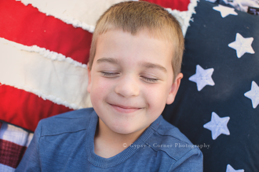 Buffalo NY Child Photography| 4th of July Session | www.gypsyscornerphotography.com