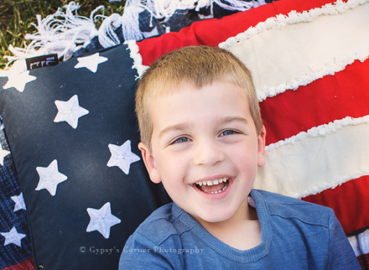 Buffalo NY Children Photography| 4th of July Session | www.gypsyscornerphotography.com