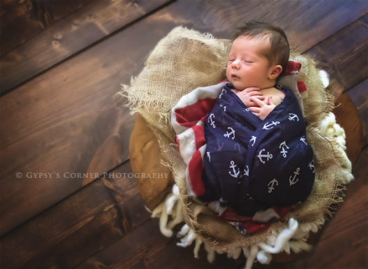 Buffalo Baby Photography| Nautical Newborn Boy| www.gypsyscornerphotography.com