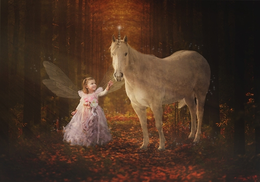 Buffalo Children Photography|Unicorn and Fairy|©Gypsy's Corner Photography