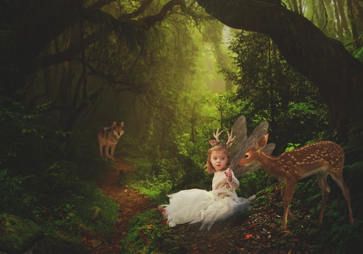 Buffalo Fairy Photographer|Woodland Friends|©Gypsy's Corner Photography