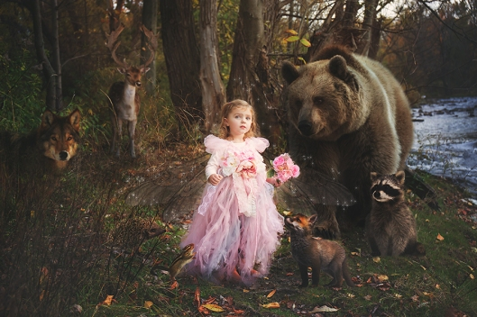 Buffalo Fairy Photographer|Autumn Fairy and Woodland Friends|©Gypsy's Corner Photography