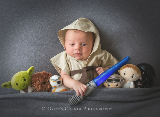 Buffalo and WNY Newborn Photographer | Star Wars Baby Boy |Gypsy's Corner Photography-64Web