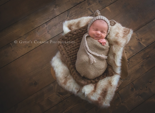Buffalo Newborn Photographer | Little field mouse Sweet baby Boy |Gypsy's Corner Photography-16Web