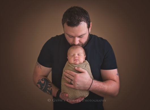 Buffalo WNY Newborn and Baby Photographer | A baby boy and his dad |Gypsy's Corner Photography-2Web