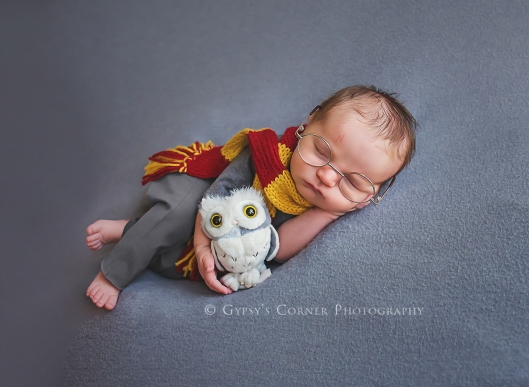 Bufffalo Newborn and Baby Photographer| Harry Potter | Gypsy's Corner Photography-86Web