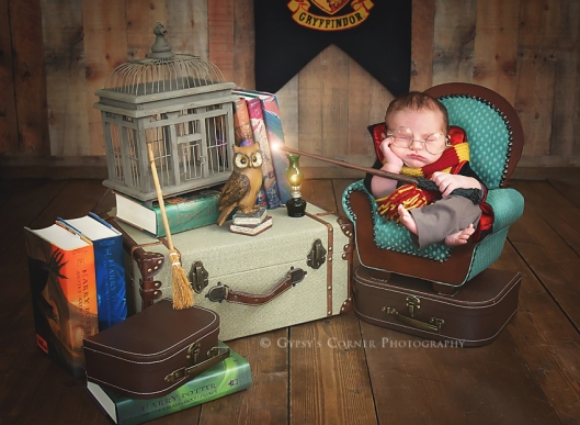 Bufffalo Newborn and Baby Photographer | Harry Potter |Gypsy's Corner Photography-88Web
