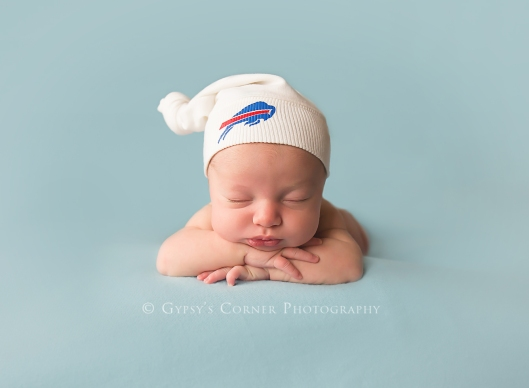 Buffalo Newborn Photographer| Buffalo Bills  |Gypsy's Corner Photography