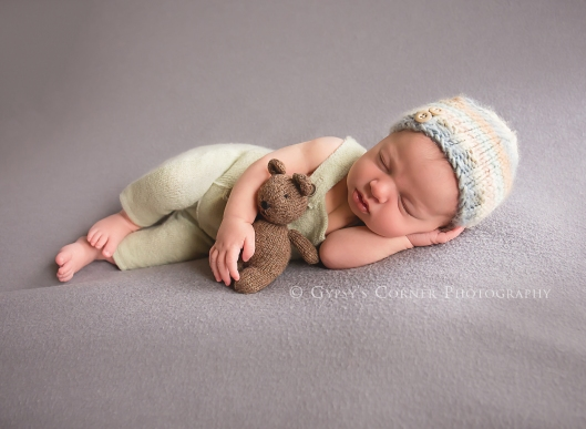 Buffalo Newborn Photographer| Handsome Baby Boy |Gypsy's Corner Photography