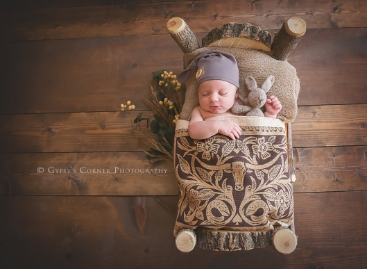 Buffalo Newborn Photographer| Sleepy man |Gypsy's Corner Photography
