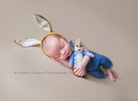 Buffalo Newborn Photographer| Peter Rabbit Baby boy|Gypsy's Corner Photography-13Web