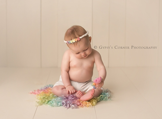 Buffalo Newborn and Baby Photographer|Rainbow Baby Girl|Gypsys Corner Photography-41Web