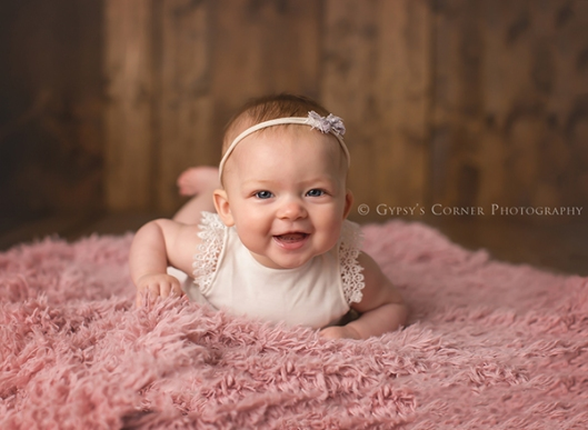 Buffalo NY child Photographer|Baby 6 month session|Gypsys Corner Photography