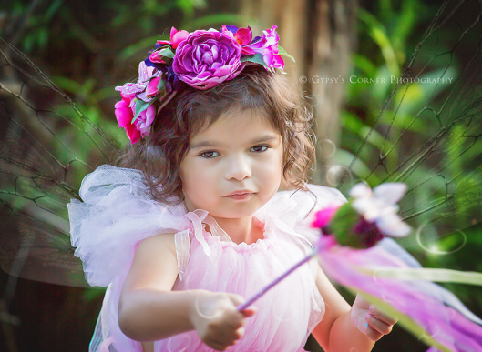 Buffalo NY Fairy Pictures|Pink Girl Fairy|Gypsy's Corner Photography