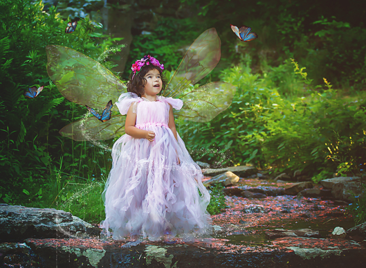 Williamsville NY Fairy Photography|Butterfly Fairy|Gypsy's Corner Photography